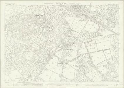 Berkshire XLVII.4 (includes: Sunningdale; Sunninghill; Winkfield) - 25 Inch Map