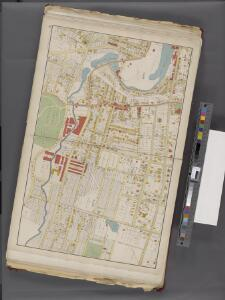 Westchester, Double Page Plate No. 8 [Map bounded by Saw Null River Rd., Mulberry St., Chestnut St., Palisade Ave.Lake Ave.] / prepared under the direction of Joseph R. Bien, from general surveys and official records.
