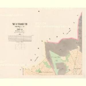 Mecholub (Měcholuby) - c4582-1-002 - Kaiserpflichtexemplar der Landkarten des stabilen Katasters
