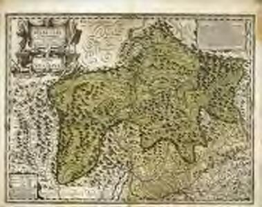 Alpinæ seu fœderatæ Rhaetiae subditarumqve ei terrarum nova descriptio