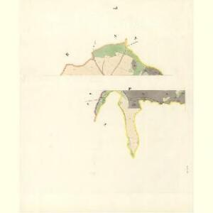 Schlock (Slawkow) - m2774-1-004 - Kaiserpflichtexemplar der Landkarten des stabilen Katasters