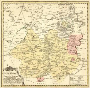 Episcopatvs Paderborn nec non Abbatiae Corvei Territorium seculare