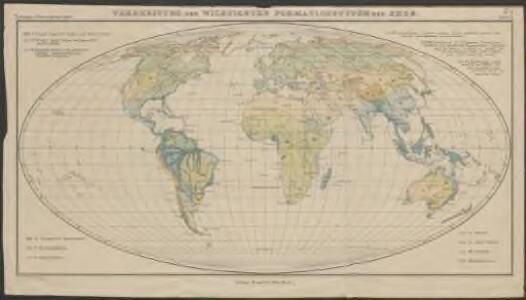 Verbreitung der wichtigsten Formationstypen der Erde