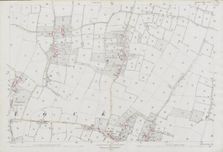 Somerset LXXXII.2 (includes: Ash; Long Load; Martock) - 25 Inch Map