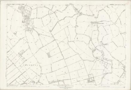 Shropshire XX.7 (includes: Baschurch; Cockshutt; Hordley) - 25 Inch Map