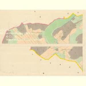 Woleschna Böhmisch (Woleschna Česka) - m0390-1-001 - Kaiserpflichtexemplar der Landkarten des stabilen Katasters