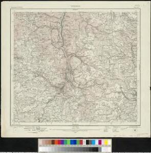 Meßtischblatt [7815] : Triberg, 1916