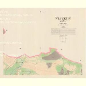 Wlczetin - c8663-1-002 - Kaiserpflichtexemplar der Landkarten des stabilen Katasters
