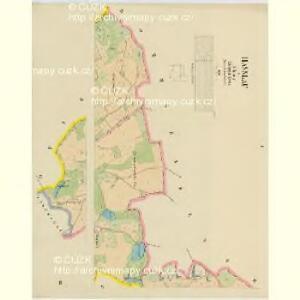 Hasslau - c1802-1-001 - Kaiserpflichtexemplar der Landkarten des stabilen Katasters