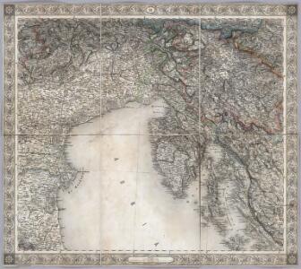 Sheet XII: Karte Des Oesterreichischen Kaiserstaates.