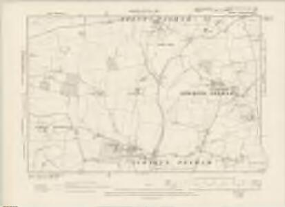 Hertfordshire XIV.NE & XV.NW - OS Six-Inch Map