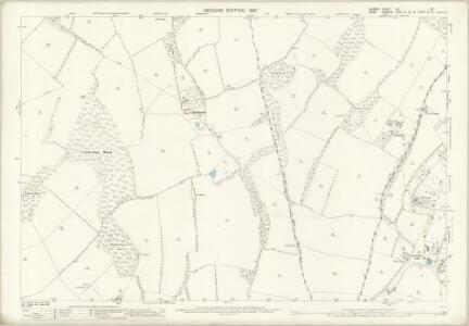 Surrey XXI.13 (includes: Chelsham; Orpington; Titsey) - 25 Inch Map