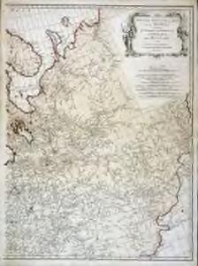 Zweiter Theil der Karte von Europa welcher Dænemark, und Norwegen, Schweden, und Russland enthælt, 1