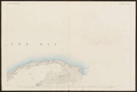 Devon CXXII.14 (includes: Brixham; Churston Ferrers) - 25 Inch Map