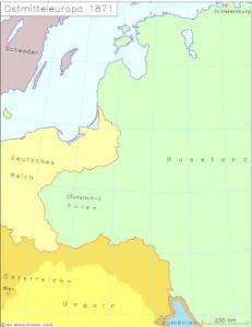 Ostmitteleuropa 1871