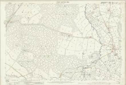 Worcestershire XIII.2 (includes: Bayton; Cleobury Mortimer; Rock) - 25 Inch Map