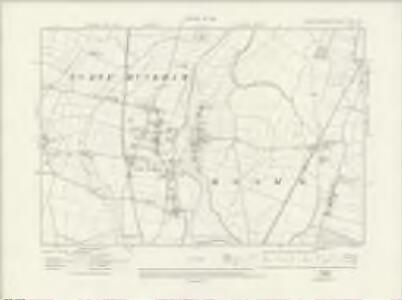 Nottinghamshire XXX.NE - OS Six-Inch Map