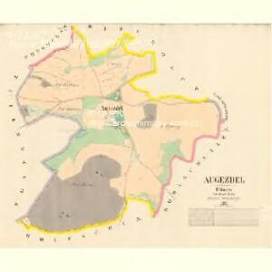 Augezdel - c8226-1-001 - Kaiserpflichtexemplar der Landkarten des stabilen Katasters