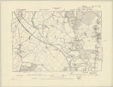 Bedfordshire XXVIII.SW - OS Six-Inch Map