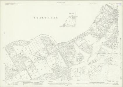 Surrey X.6 & 2 (includes: Chobham; Sunningdale; Sunninghill; Windlesham) - 25 Inch Map