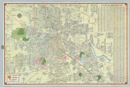 Shell Street Map of Houston.