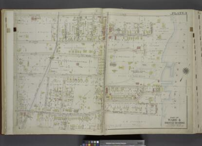 Part of Ward 4. [Map bound by Maryland Ave, New York  Bay, Harbor View Place, Bay St (New York Ave), High St, Summer St, Fingerboard   Road, Tompkins Ave]