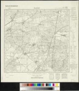 Meßtischblatt 2242, neue Nr. 4040 : Hundeluft, 1938