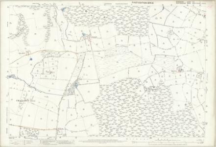Shropshire XVII.5 (includes: Cheswardine; Eccleshall; Tyrley) - 25 Inch Map