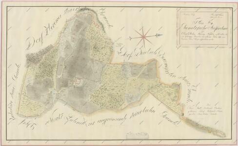 Geometrický plán dvora Mysletín se všemi přilehlými pozemky 1