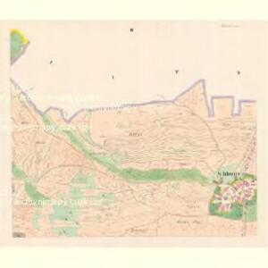 Schlowitz (Slowice) - c7750-1-002 - Kaiserpflichtexemplar der Landkarten des stabilen Katasters