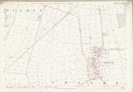 Lincolnshire LXXVII.10 (includes: North Collingham; South Scarle; Swinderby) - 25 Inch Map
