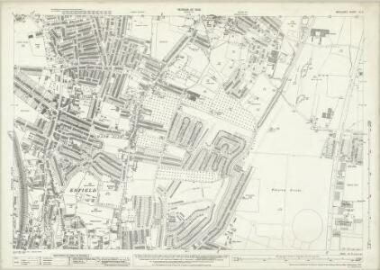 Middlesex VII.3 (includes: Enfield St Andrew) - 25 Inch Map