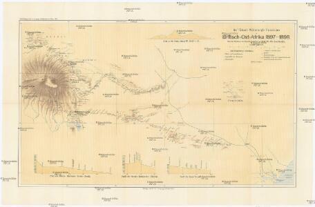 Graf Eduard Wickenburg's Reisetouren in Britisch-Ost-Afrika 1897-1898