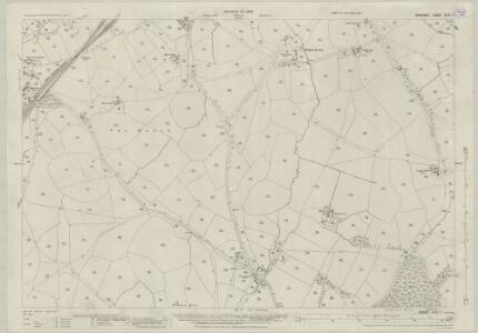 Somerset XLIII.7 (includes: Selwood) - 25 Inch Map