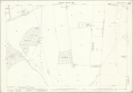 Berkshire XX.8 (includes: Ardington; East Hendred; Farnborough; West Hendred; West Ilsley) - 25 Inch Map