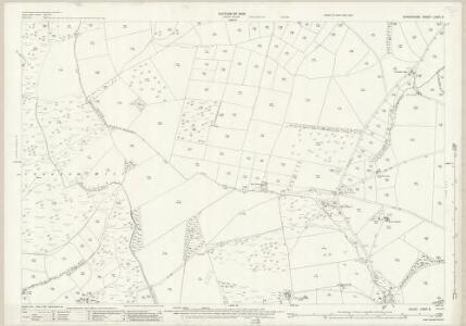 Shropshire LXXVI.6 (includes: Clun; Llanfair Waterdine; Stowe) - 25 Inch Map