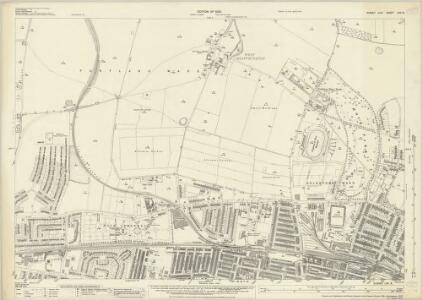 Sussex LXV.8 (includes: Aldrington; Hangleton; Hove; West Blatchington) - 25 Inch Map