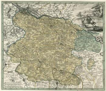 Ducatus Lvnebvrgensis et Comitatus Dannebergensis nova tabula