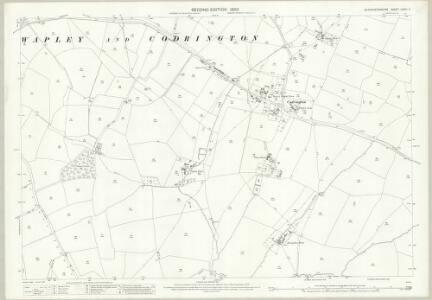 Gloucestershire LXXIII.2 (includes: Dodington; Dyrham and Hinton; Westerleigh) - 25 Inch Map