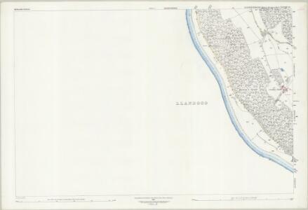 Gloucestershire XXXVIII.10 (includes: Newland; Trelech United) - 25 Inch Map