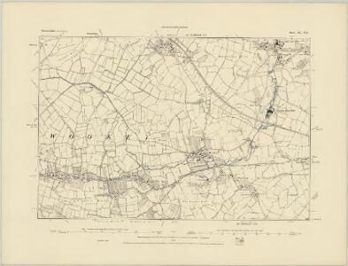 Somerset XL.NW - OS Six-Inch Map
