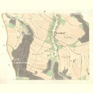 Neudorf (Nowawes) - m2055-1-002 - Kaiserpflichtexemplar der Landkarten des stabilen Katasters