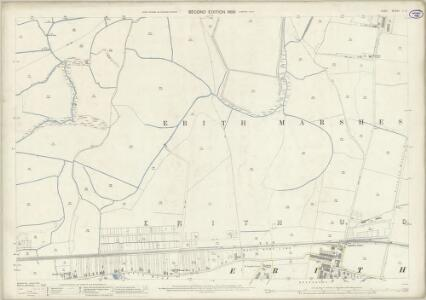 Kent II.8 (includes: Erith) - 25 Inch Map