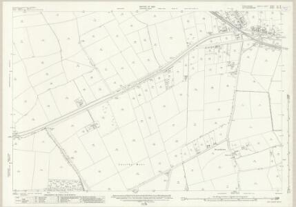 Lincolnshire LX.15 (includes: Broadholme; Hardwick; Saxilby with Ingleby; Thorney) - 25 Inch Map