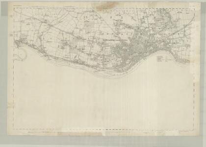 Northumberland XCVII - OS Six-Inch Map