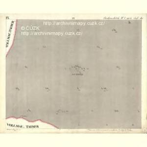 Chodenschloss - c7957-1-009 - Kaiserpflichtexemplar der Landkarten des stabilen Katasters