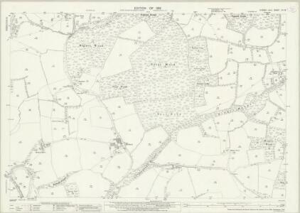 Sussex XII.16 (includes: Billingshurst; Rudgwick) - 25 Inch Map
