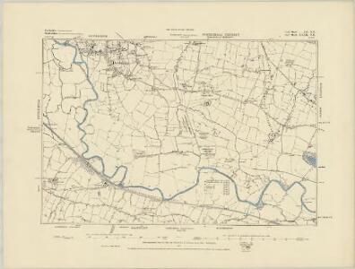 Derbyshire L.SE - OS Six-Inch Map
