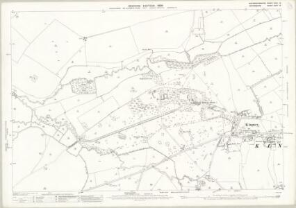 Buckinghamshire XXXII.16 (includes: Haddenham; Kingsey; Thame; Towersey) - 25 Inch Map
