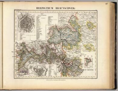 Braunschweig Herzogthum.
